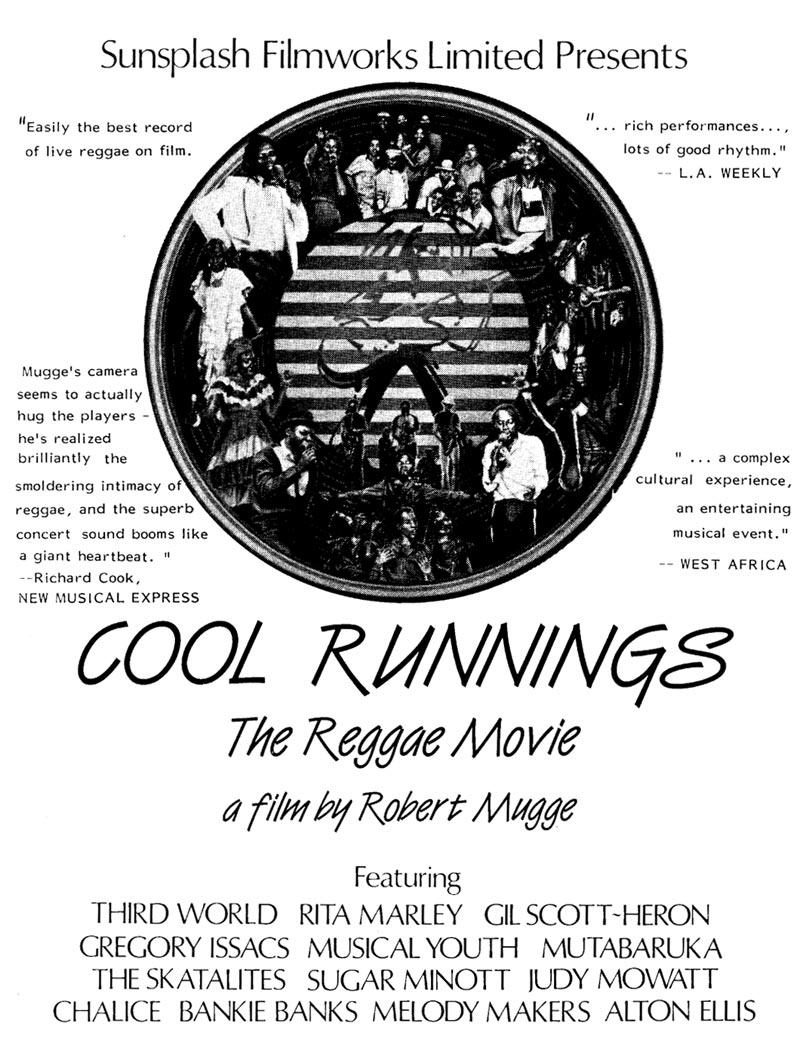 Sugar Minott Cool Runnings